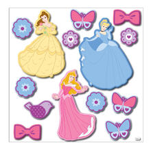 Muurstickers 3D Princess