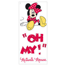 Muurstickers Minnie Mouse