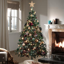 Kerstboom + decoratiepakket