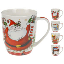 Lot de 4 tasses en porcelaine