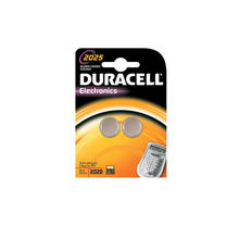 Lot de 2 piles DURACELL CR2025 LI 5299929