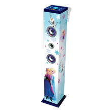Bluetooth speakertoren 'Frozen' LEXIBOOK K8050FZ Tower Karaoke van FROZEN