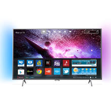 TV LED Ultra HD/4K Android avec Ambilight 108 cm PHILIPS 43PUS6401