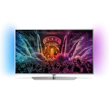 TV LED Ultra HD/4K Android avec Ambilight 123 cm PHILIPS 49PUS6551