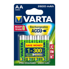 Varta Ready To Use accus rechargeables AA 4 pieces NI-MH 2500 Power RADY2USE 5716 Mignon HR 6