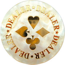 Dealer Button Deluxe 6cm