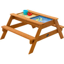 Plum zand-waterbak en picknicktafel Zand en water speeltafel Plum Surfside