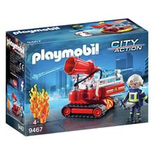 PLAYMOBIL® 9467 Pompier avec robot d'intervention de PLAYMOBIL