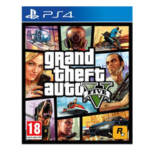 Spel Grand Theft Auto V voor PS4