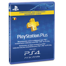 Carte PlayStation Plus