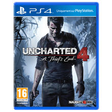 Jeu Uncharted 4 : A Thief's End pour PS4