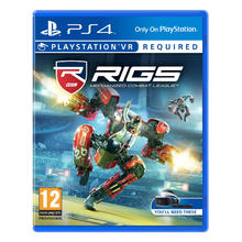 Jeu RIGS Mechanized Combat League pour PS VR