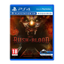 Spel Until Dawn: Rush of Blood voor PS VR