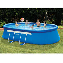 Piscine ovale 549 x 305 x 107 cm INTEX