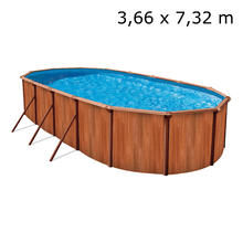 Permanent zwembad Esprit Redwood ATLANTIC POOLS