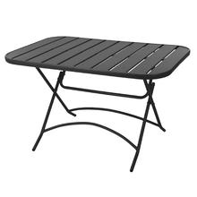 Table de jardin repliable