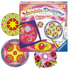 2-in-1 Mandala-Designer Romantic RAVENSBURGER