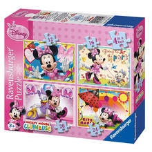 4 puzzels Minnie Mouse Clubhouse RAVENSBURGER