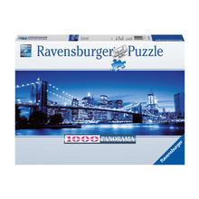 Panoramapuzzel New York by Night RAVENSBURGER
