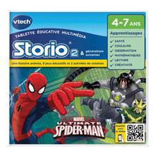 Storio 2 game The Amazing Spiderman VTECH