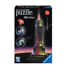 3D-puzzel Empire State Building Night Edition RAVENSBURGER