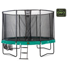 Supreme all-in trampoline Ø427 cm EXIT