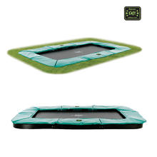 Supreme Ground Level Trampoline 214 x 366 cm EXIT