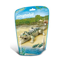 PLAYMOBIL® 6644 Alligator avec bébés de PLAYMOBIL