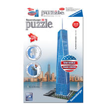 3D-puzzel One World Trade Center RAVENSBURGER