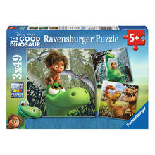 3 puzzels The Good Dinosaur RAVENSBURGER