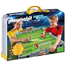 PLAYMOBIL® 6857 Terrain de football transportable