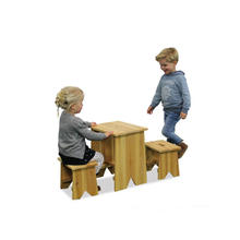 Picknicktafel en bankjes Junior Large EXIT