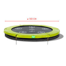 Trampoline ø 183 cm Twist Ground EXIT