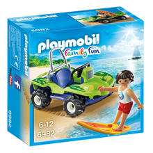 PLAYMOBIL® 6982 Surfer et buggy de PLAYMOBIL