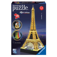 3D-puzzel Eiffeltoren Night Edition RAVENSBURGER
