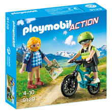 PLAYMOBIL® 9129 Wandelaar en mountainbiker van PLAYMOBIL