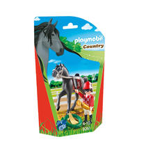 PLAYMOBIL® 9261 Jockey avec cheval de course