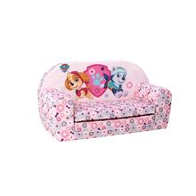 Sofa/bed Paw Patrol roze