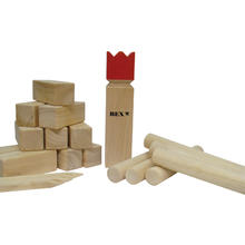 Jeu de Kubb Original Red King