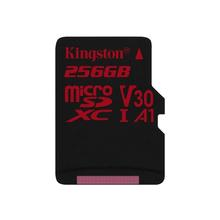 Kingston Canvas React - Carte mémoire flash (adaptateur microSDXC vers SD inclus(e)) 256 Go A1