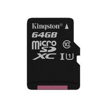 Kingston Canvas Select - Carte mémoire flash (adaptateur microSDXC vers SD inclus(e)) 64 Go UHS-I U1