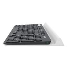 Logitech K780 Multi-Device - Toetsenbord Bluetooth België AZERTY wit