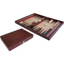 Backgammon Inlayed en bois 35x24cm de BUFFALO
