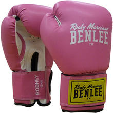 Gants de Boxe rouges & blancs BenLee Rodney 10oz