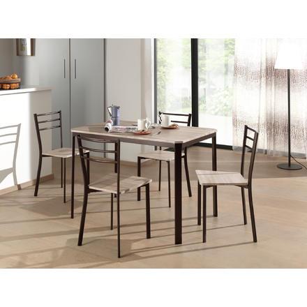 Ensemble table et chaises de cuisine - Lot de chaises sur Unigro 2a865f4c3ce0