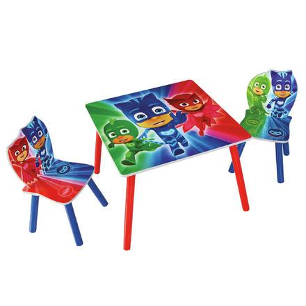 Table + 2 Chaises Pour Enfants Les Pijamasques
