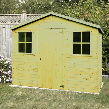85b458f85395c Abri de jardin   Garages en bois