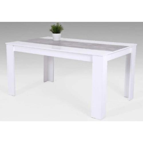 Table 140 x 80 cm tables salle manger - Table salle a manger 140 x 80 ...