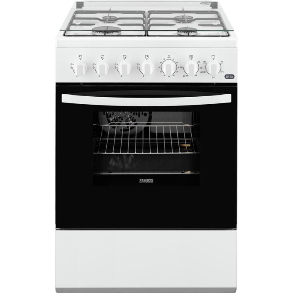 meilleur service 980e4 b7ea2 Cuisinière au gaz butane + four électrique ZANUSSI ...
