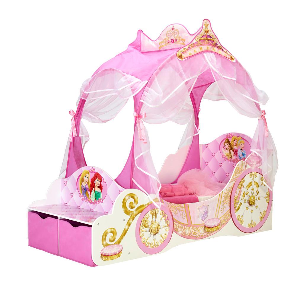 Lit pour enfant Princesses Disney + sommier - Chambres d ...